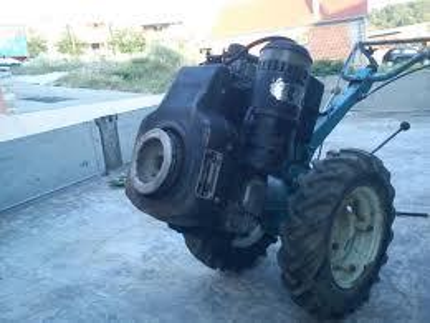 Lombardini motori tipo 520,dizel,freza,plug,prikolica dužine 2 metra