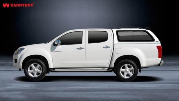 Carryboy Hardtop/Tvrdi pokrov za Isuzu D-Max Double Cab 2012+