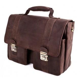 9aabbb332899f Poslovna torba, kožna-nubuk, LB-101