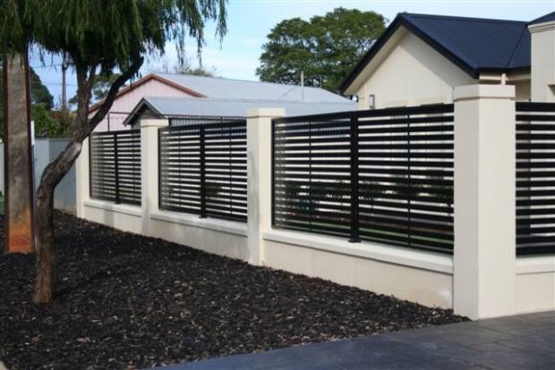 Staklene ograde moderne ograde inox ograde metalne i kovane ograde - Cerco casa a miami ...