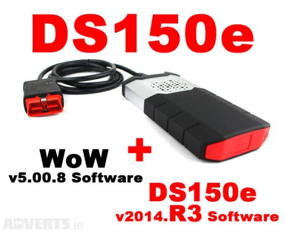 AUTODIJAGNOSTIKA DELPHI DS150E - BLUETOOTH / Delphi 2014 3 + Wurth WOW