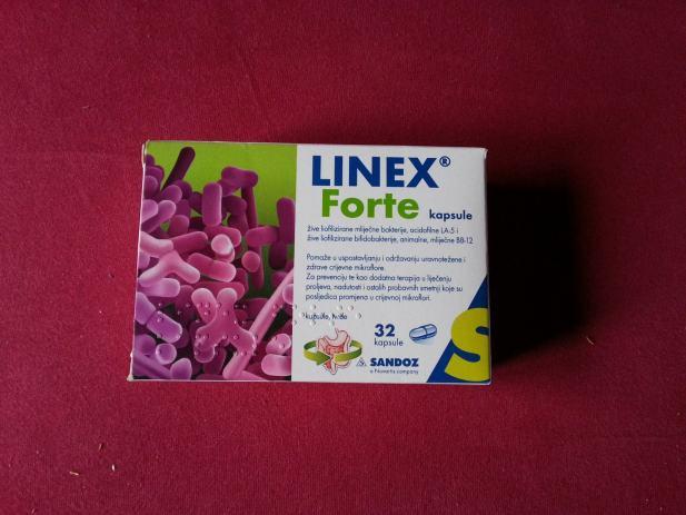Opširnije Prodajem navedene tablete Linex Forte