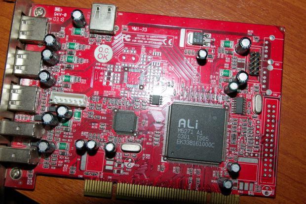 DRIVERS ALI M5271 A1