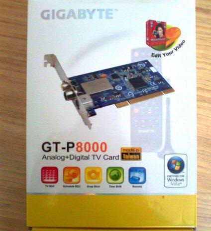 GIGABYTE GT-P8000 TV TUNER REMOTE CONTROL WINDOWS VISTA DRIVER DOWNLOAD