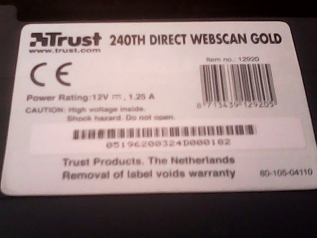 TRUST DIRECT WEBSCAN GOLD 240TH DRIVER FOR WINDOWS
