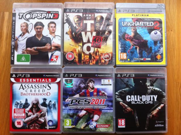 PS3 Igrice: BlackOps, PES 2011, Top Spin 3