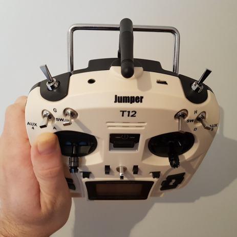 Stanica Jumper T12 OpenTX 16CH Radio Trans  sa JP4-in-1 MP modulom