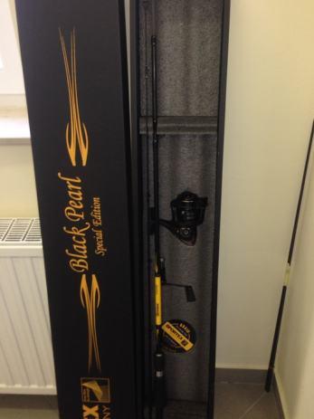 Balzer Prestige Stellfisch Limited Edition Carbon IM 7 8m Angelrute 50-160 g