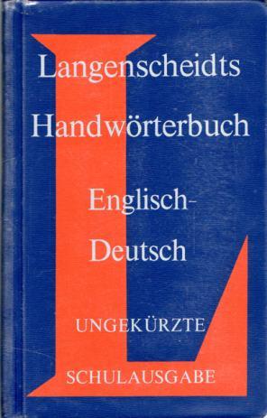 Wörterbuch Englisch/Deutsch