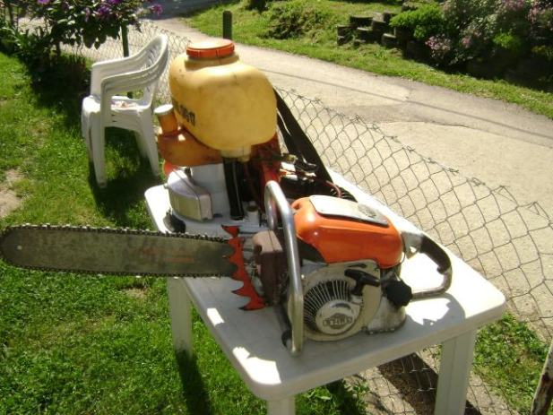 prodajem motornu prskalicu STIHL SG17 za 1500 kn i motornu pilu STIHL