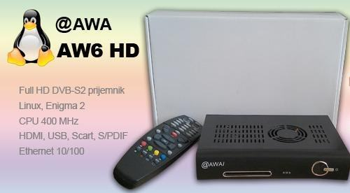 @AWAI AW6 HD - Dreambox  DM500HD (Ferrari sim) - ENIGMA2