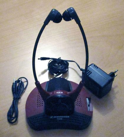 Sennheiser Set 810 Ergonomic Personal Infrared Tv
