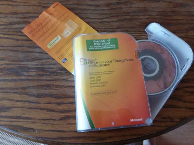 microsoft office 2007 original cd   word  excel  pp  onenote