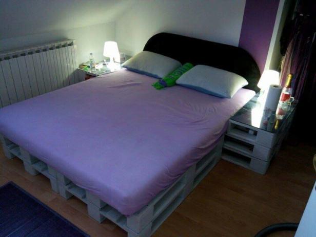 Krevet od paleta