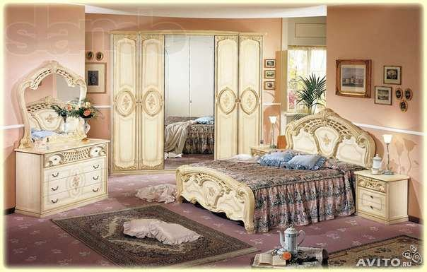 Stilska spavaća soba u odličnom stanju