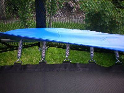trampolin 250 cm sa kompletnom opremom ljestve mreza novo. Black Bedroom Furniture Sets. Home Design Ideas
