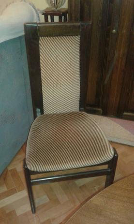 drveni masivni stol sa stolicama 155 cm du ina x 105 cm irina. Black Bedroom Furniture Sets. Home Design Ideas
