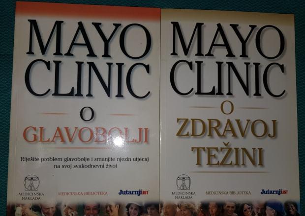 Mayo clinic knjige Glavobolja i Zdrava težina