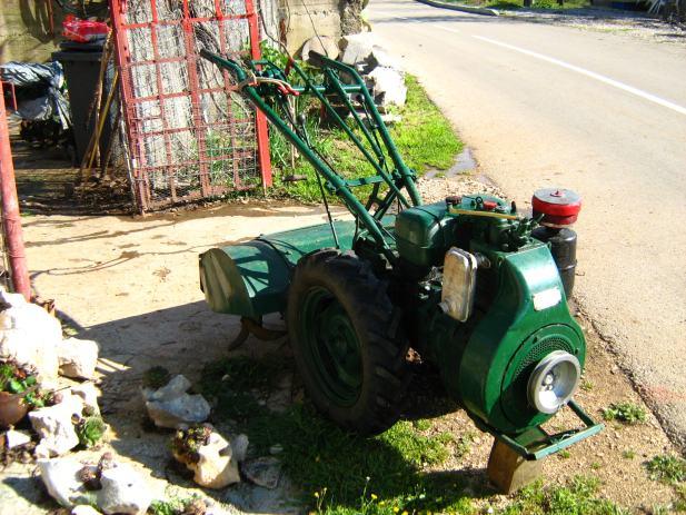 Goldoni motokultivator Dizel *** freza, kopacica, mali traktor