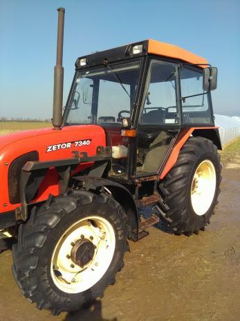 Traktor zetor 7340