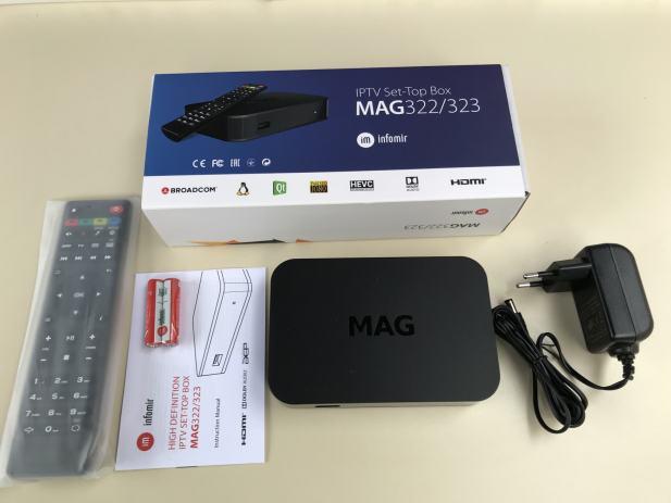 MAG 322 IPTV Set Box Linux Stalker
