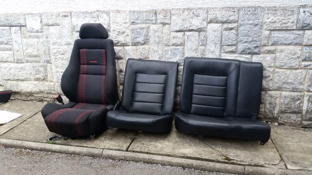 golf 1 cabrio sportline recaro grijana sjedala. Black Bedroom Furniture Sets. Home Design Ideas
