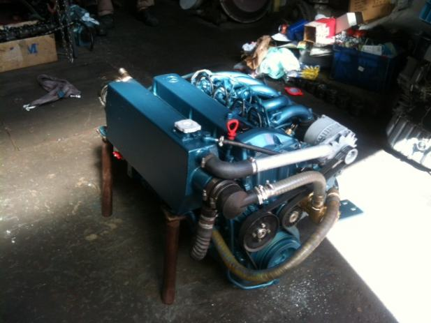 Marinizacija za motor marke mercedes om 602 for Mercedes benz marine engines