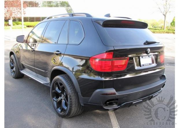 bmw x5 e70 aerodynamic kit spojleri aero kit tuning. Black Bedroom Furniture Sets. Home Design Ideas