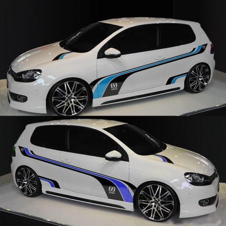 Naljepnice Za Auto Vw Golf Tuning Sport Mind Racing