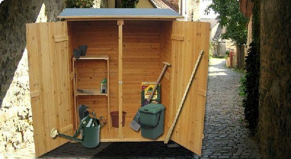 Vrtna kutija spremi te za alat novo - Armadi per esterno in legno ...