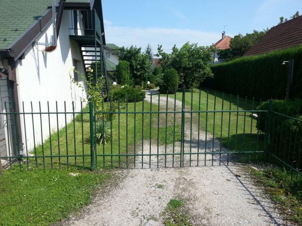 Željezna ograda..zamjena za mješalicu za beton