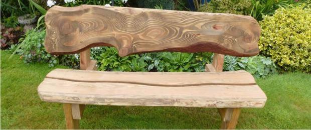 Rustikalna Klupa Za Vrt 160x50cm Hrast Rustik