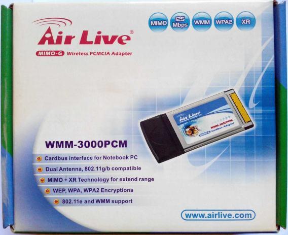 AIRLIVE WMM-3000PCM DRIVER WINDOWS XP