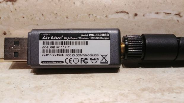 NEW DRIVER: AIRLIVE WN-360USB ADAPTER