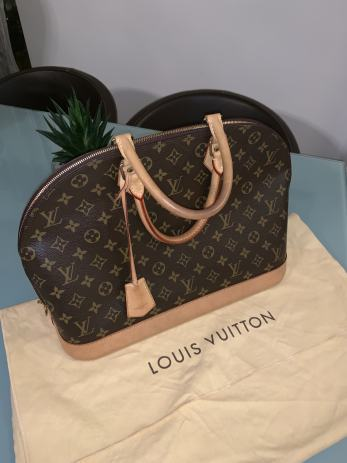 23dc67380833d Louis Vuitton Alma mm torba-original