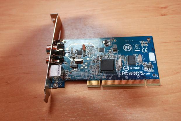 Gigabyte GT-PTV-AF-RH Philips TV Tuner Linux
