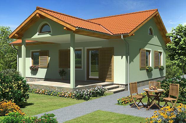 Montažna kuća, 75 m2, Dalia