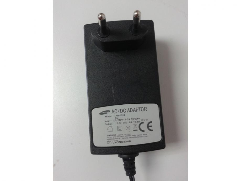 12V 1.6A Monitor Ac Power Adapter punjač za Samsung AD-1912