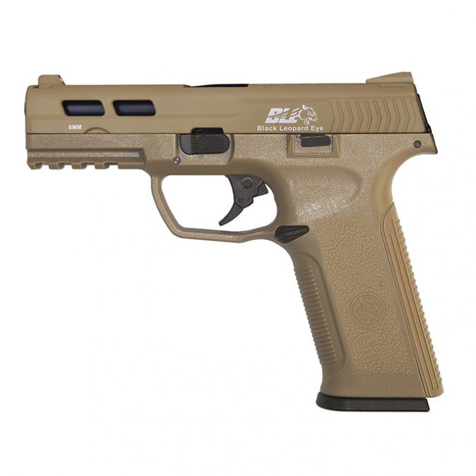 ICS BLE-XAE TAN airsoft GBB pištolj