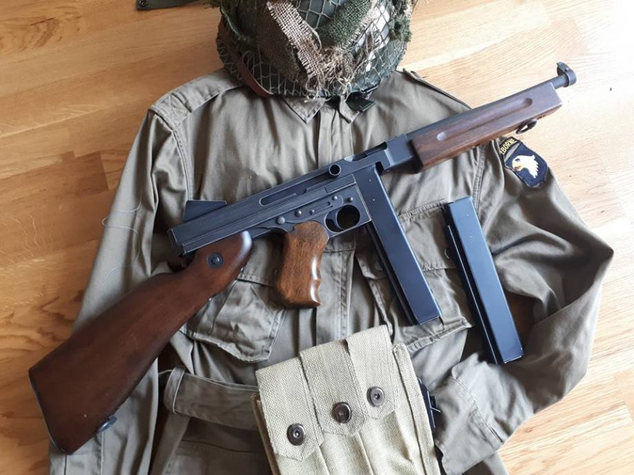 King Arms Thompson M1A1 Military ( Full metal i drvo)