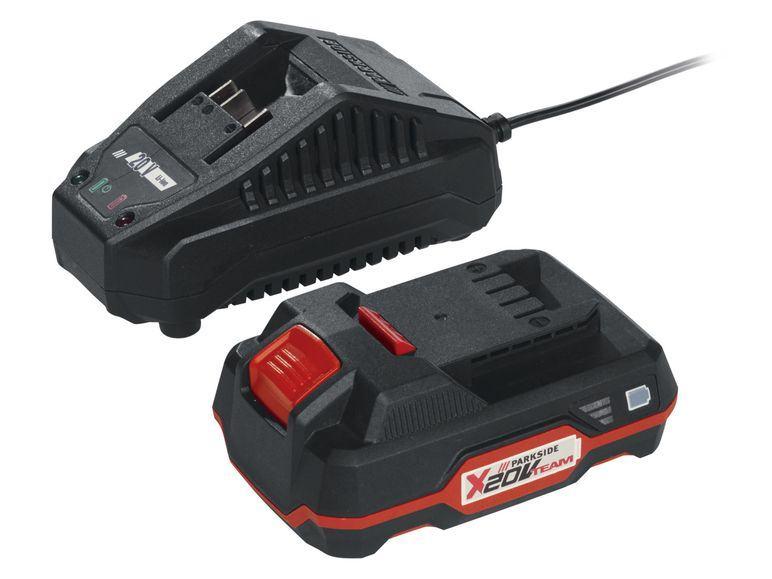 Parkside X20 20V 2Ah, 4Ah, brzi punjači 65W, 85W, 120W