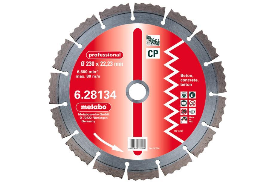 METABO dijamantna rezna ploča za kutnu brusilicu 230 mm - Professional