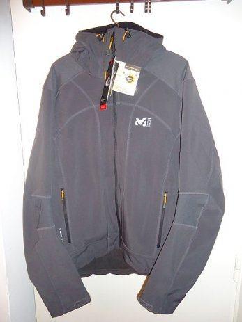 Softshell Millet Track hoodie