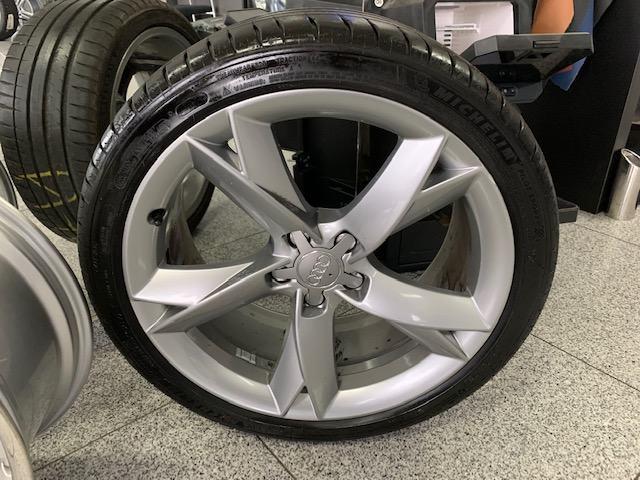 "Orginalne Audi S-Line 19"" + ljetne gume 255/35/19  TOP STANJE !!!"