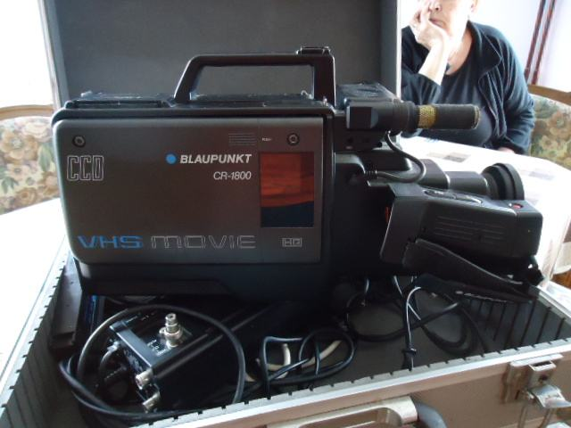 BLAUPUNKT VHS video kamera