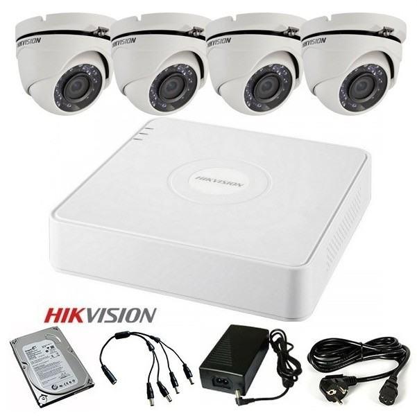 HIKVISION Video nadzor FULL komplet sa 4 HD kamere