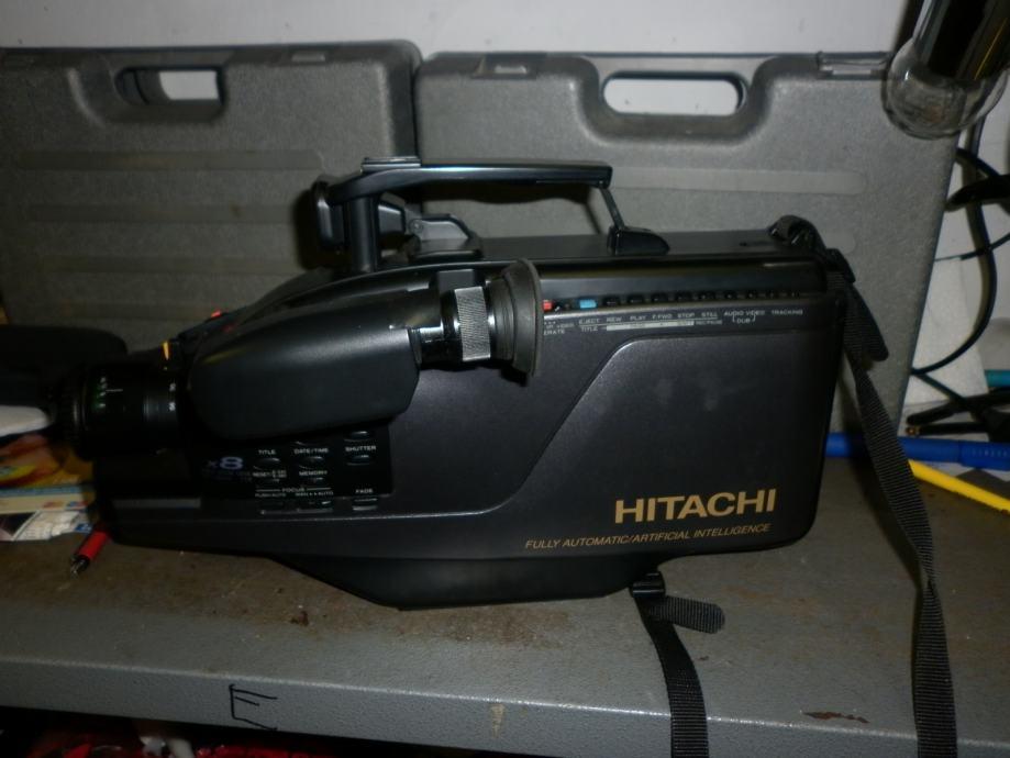 VHS Video Kamera Hitachi