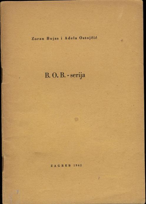 Bujas Ostojčić - B.O.B. serija za ispitivanje inteligencije djece 1942