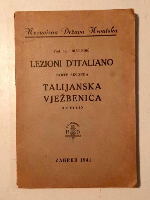 NDH LEZIONI D'ITALIANO PARTE SECONDA 1941
