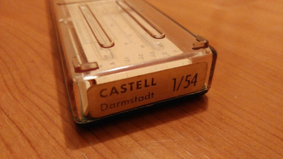 faber castell 154 vintage logaritmar prilika